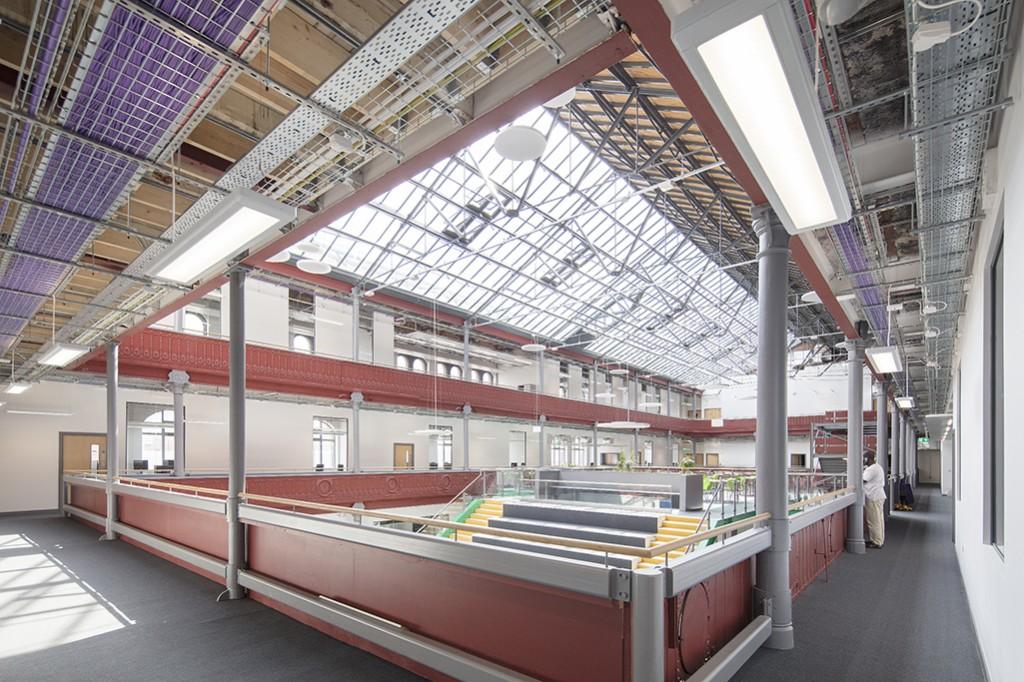 Leeds City College Printworks Campus 019