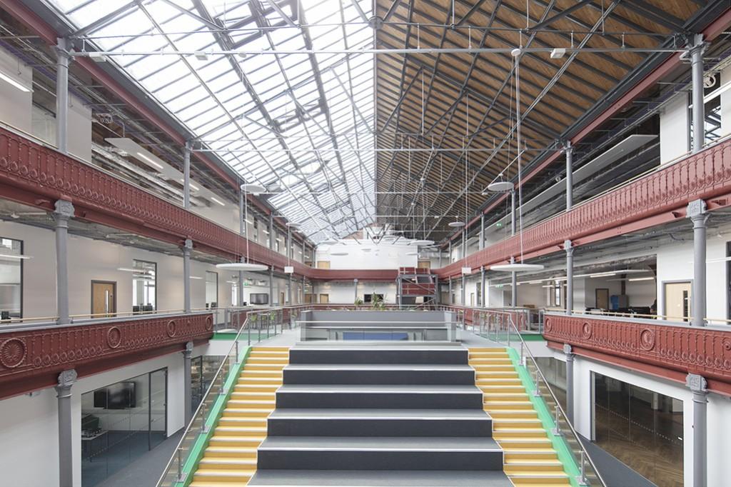 Leeds City College Printworks Campus 021
