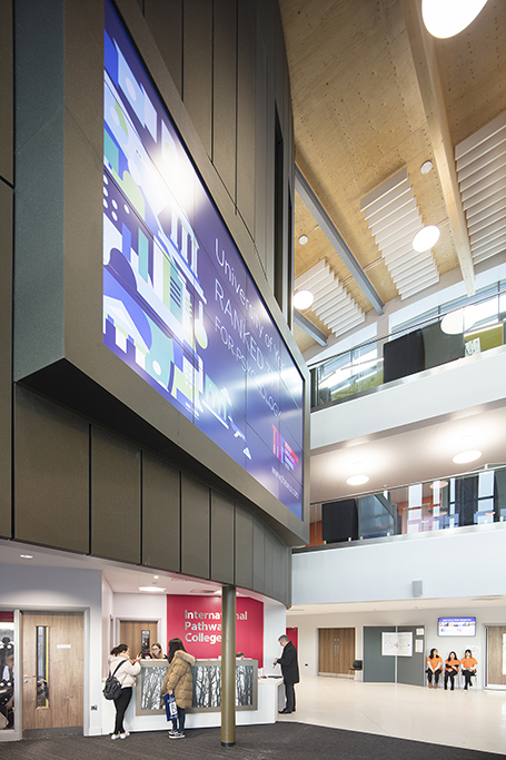 Piazza Building University of York 014