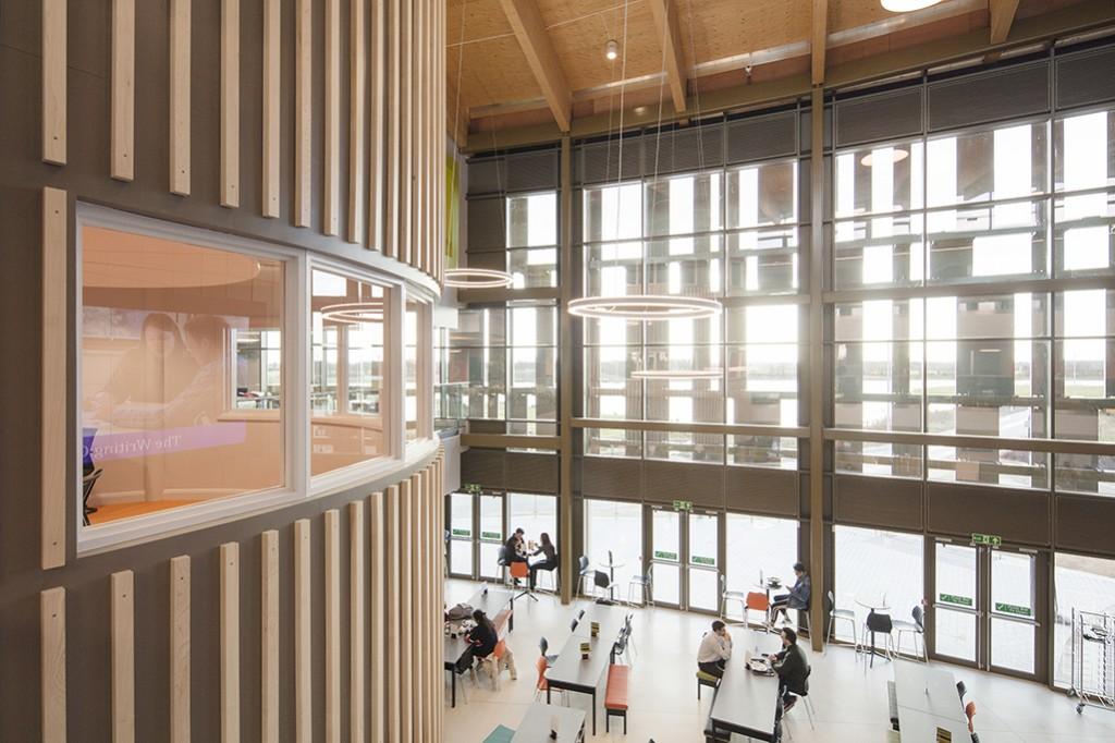 Piazza Building University of York 036