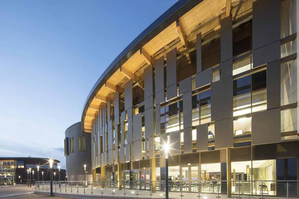 Piazza Building University of York 166