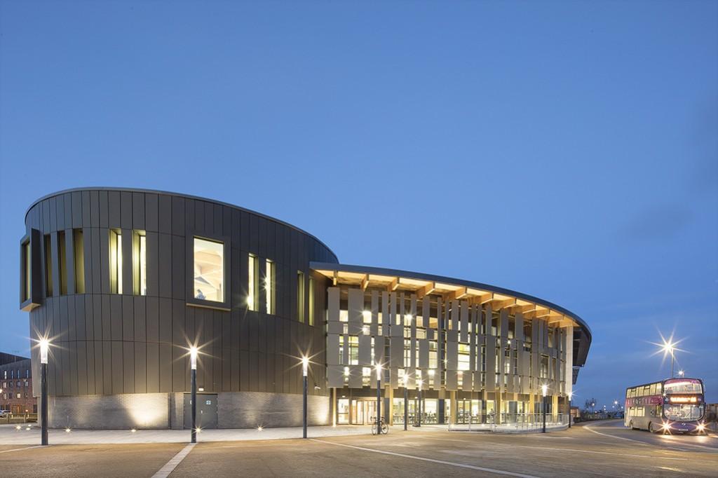 Piazza Building University of York 168